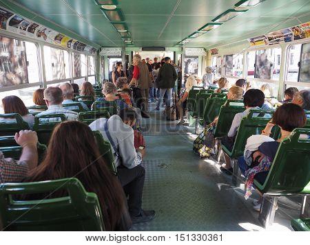 Vaporetto Waterbus In Venice