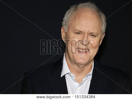 John Lithgow at the Los Angeles premiere of 'The Accountant' held at the TCL Chinese Theater in Hollywood, USA on October 10, 2016.