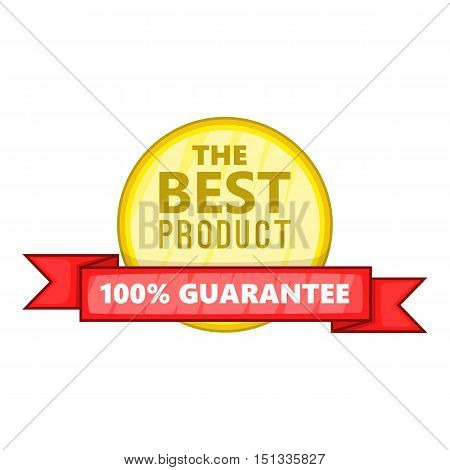 The best product icon. Cartoon illustration of the best product vector icon for web