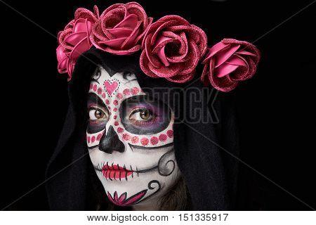 Gothic Skull Portrait