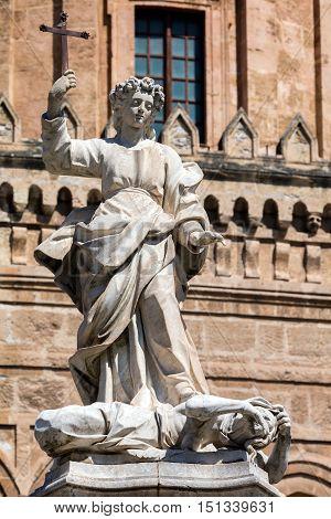 Statue Of Saint Rosalia