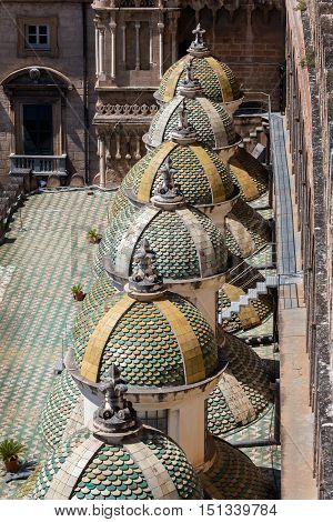 Side Cupolas Of The Palermo's Cathedral