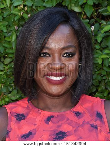 LOS ANGELES - SEP 25:  Viola Davis arrives to the The Rape Foundation Annual Brunch on September 25, 2016 in Hollywood, CA