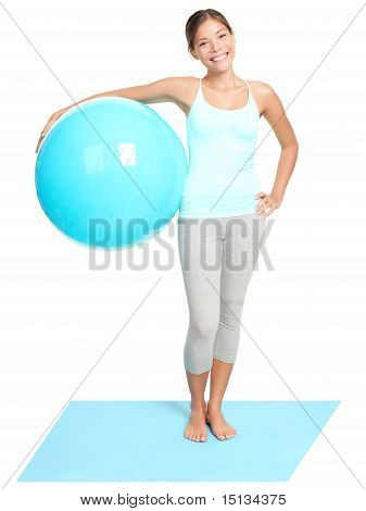 Fitness Woman Standing