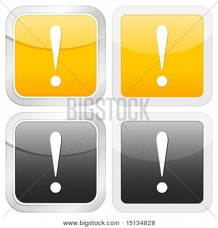 Square Icon Exclamation Mark