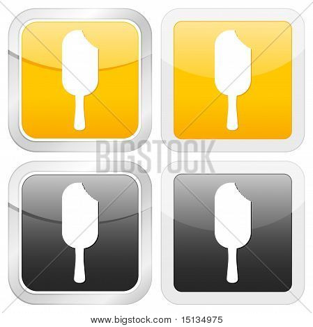 Square Icon Ice Cream