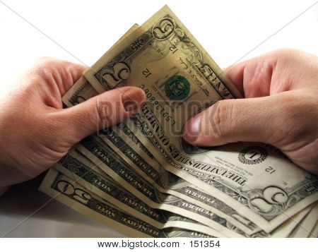 Money Transfer From One Hand To Another
