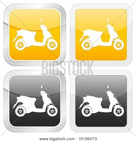 Square Icon Scooter