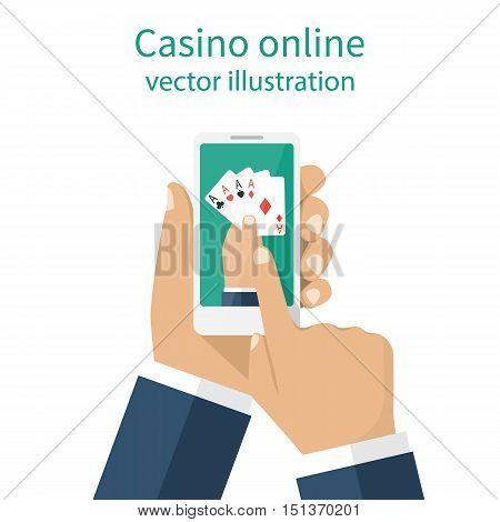 Casino Online Concept.