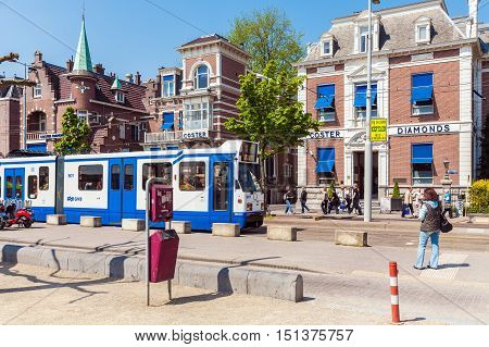 Amsterdam, Netherlands - April 3, 2008: The Building Company Coster Diamonds