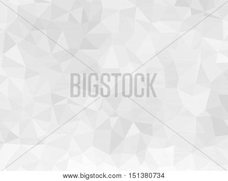 Low poly background like crumpled paper. Vector illustration mosaic of triangles.