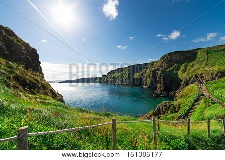 Beautiful Landscape Of Cliffs In Ireland