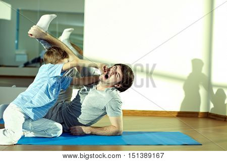 Fight at gym
