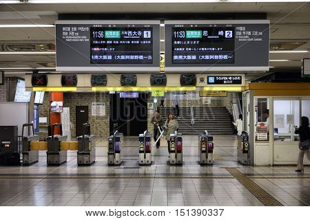Station In Osaka