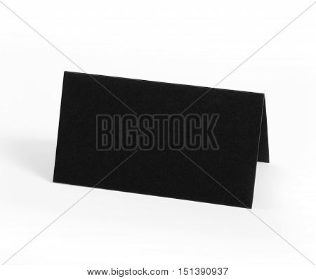 Double sided business card with place for text. Identity design corporate templates company style