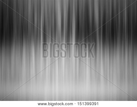 Abstract black and white grey striped gradient elegant horizontal background