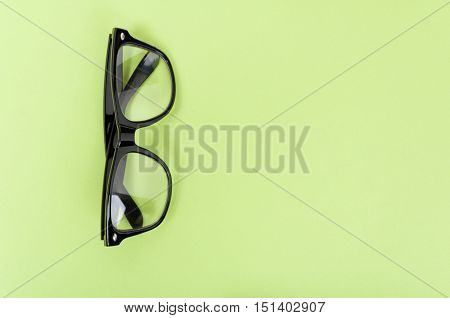 Mock Up With Modern Glasses