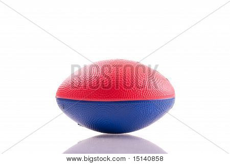 Red And Blue Toy Football