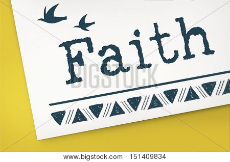 Belief Faith Hope Love Concept