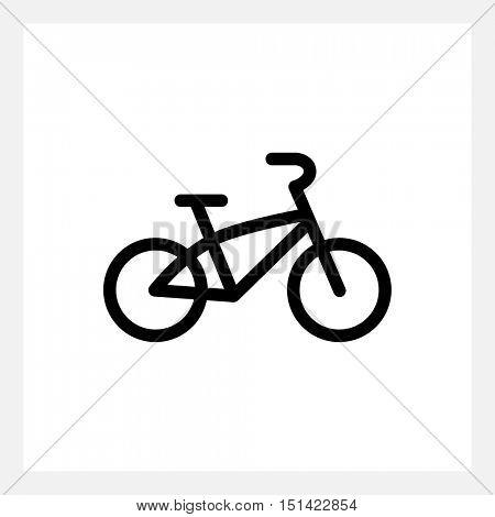 Kids bike icon