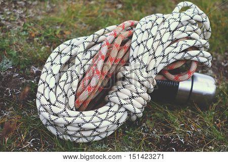Climbing Ropes, Rock