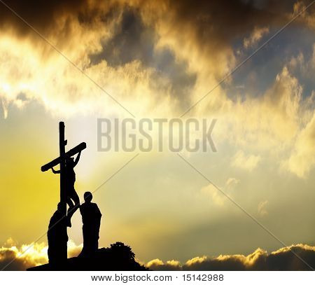 Forgiveness - Jesus Hangs On Cross
