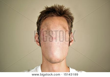 Gesichtslose Mann