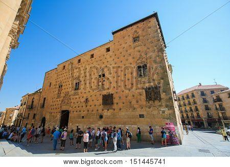 Casa De Las Conchas In Salamanca