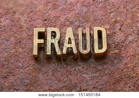 Fraud Word Rust