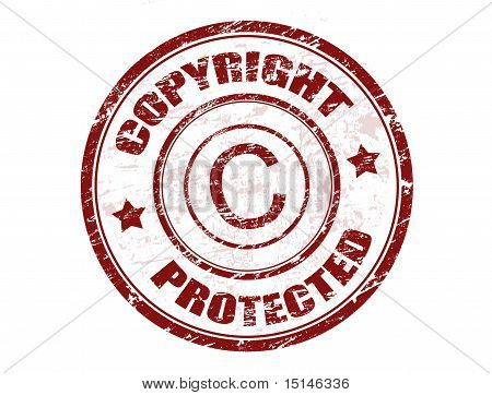 Copyright Protected Stamp