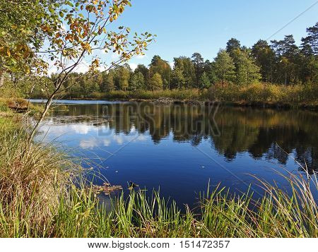 Silent Autumn River.