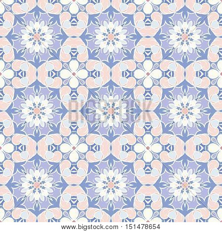 Seamless abstract pattern in Oriental style. Decorative and design elements for textile or book covers, manufacturing, wallpapers, print, gift wrap.