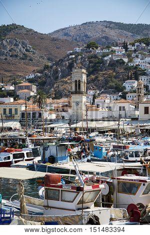 Hydra Island In Greece