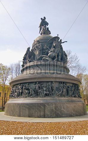 Novgorod the Great, Monument Millennium of Russia