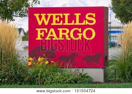 Wells Fargo Sign And Logo