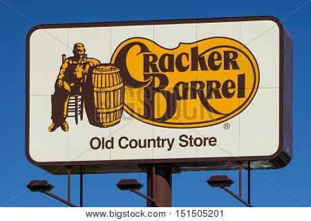 Cracker Barrel Restaurant Sign And Logo