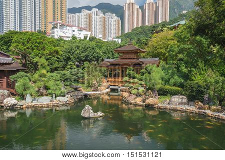 Public Nan Lian Garden, Chi Lin Nunnery, Hong Kong