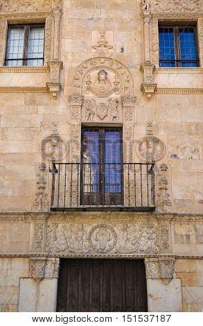 Casa De Las Muertes In Salamanca, Spain