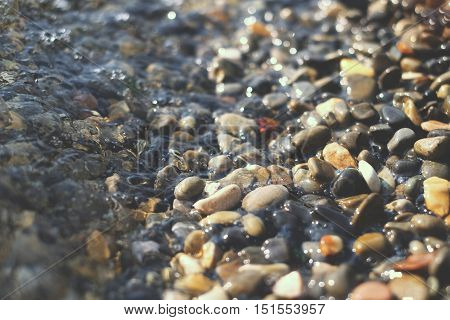 Sea Stones And Water