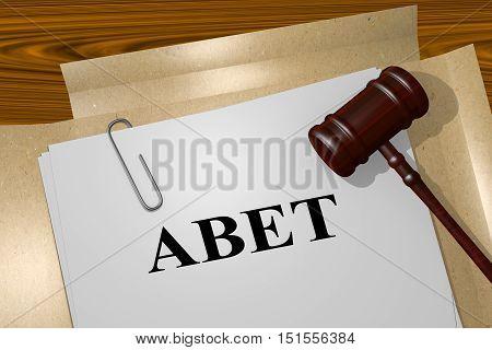 Abet - Legal Concept