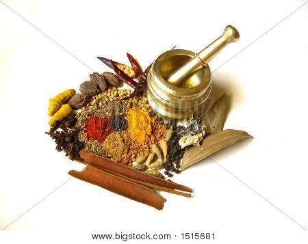Spices With Mortar 3
