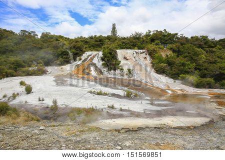 Thermal Area Orakei Korako In New Zealand