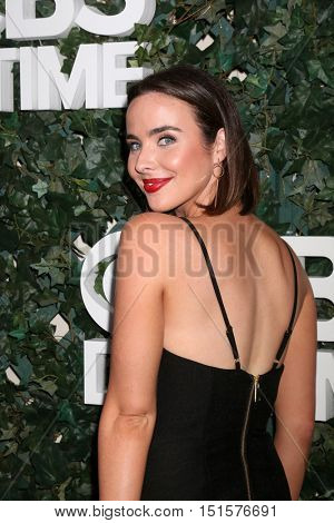 LOS ANGELES - OCT 10:  Ashleigh Brewer at the CBS Daytime #1 for 30 Years Exhibit Reception at the Paley Center For Media on October 10, 2016 in Beverly Hills, CA