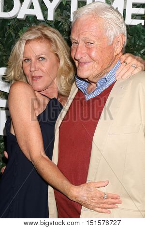 LOS ANGELES - OCT 10:  Alley Mills, Orson Bean at the CBS Daytime #1 for 30 Years Exhibit Reception at the Paley Center For Media on October 10, 2016 in Beverly Hills, CA