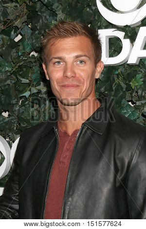 LOS ANGELES - OCT 10:  Michael Roark at the CBS Daytime #1 for 30 Years Exhibit Reception at the Paley Center For Media on October 10, 2016 in Beverly Hills, CA