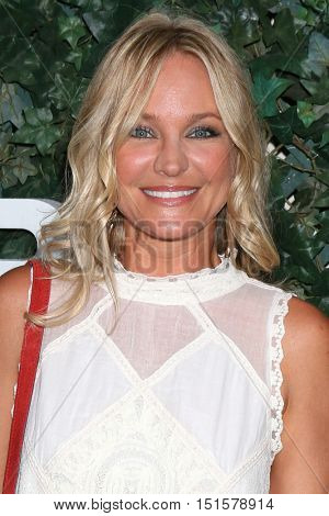 LOS ANGELES - OCT 10:  Sharon Case at the CBS Daytime #1 for 30 Years Exhibit Reception at the Paley Center For Media on October 10, 2016 in Beverly Hills, CA