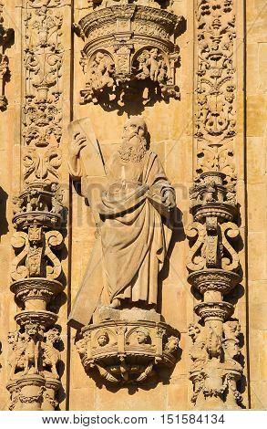 Convento De San Esteban In Salamanca - Saint Andrew