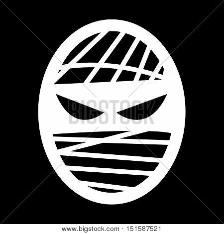 an images of mummy icon illustration design