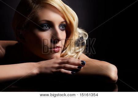 Beautiful Curly Blonde