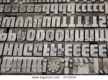 Metal Letters 1